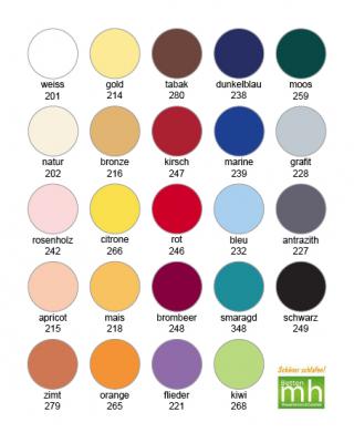 Spannbettlaken 90-100 x 200-220cm Aqua  -Jersey Qualität