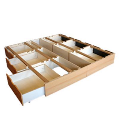 Wasserbett DUAL Frottee & Schubladensockel