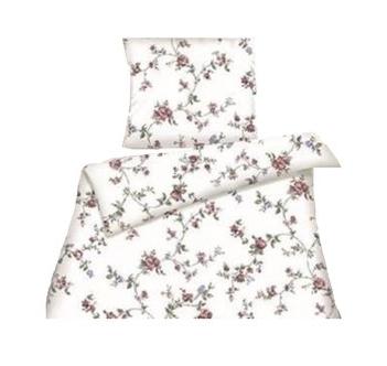 Bettwäsche Flower Baumwolle Reißverschluss