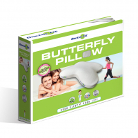 Doctor Fit - Butterfly Kissen Green Line